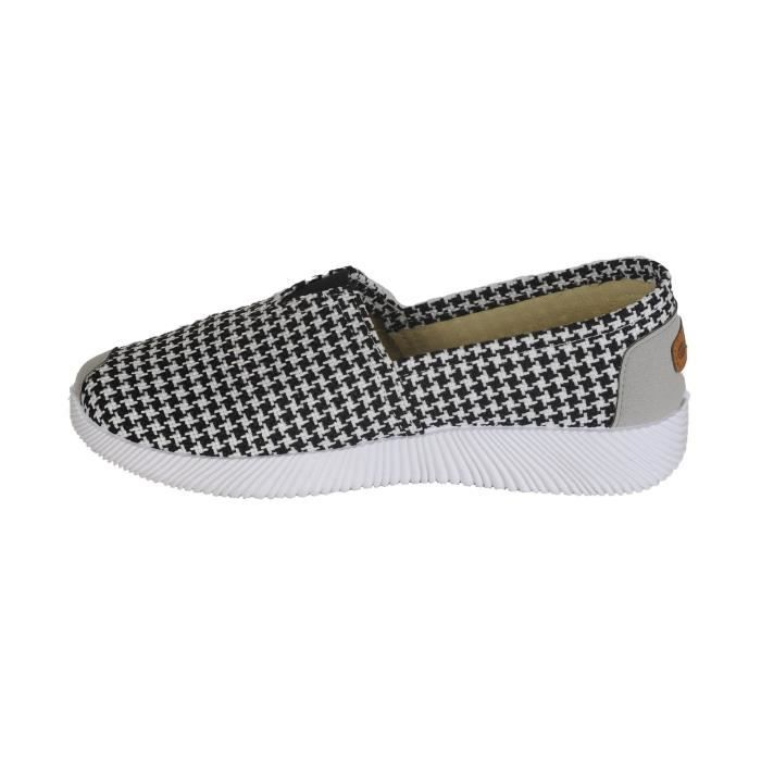 Respirant lin classique FOURGONS confortable enfilage facile Slip On léger Casual platTTXYS Taille-39