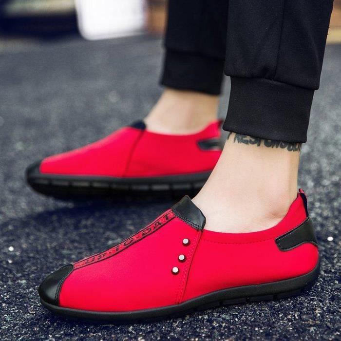 Extensible RéSistant Homme Course à AntidéRapant L'Abrasion Style Respirant Pied A 41 Ultra rouge Chaussure Assurer Mesh dIOvvw