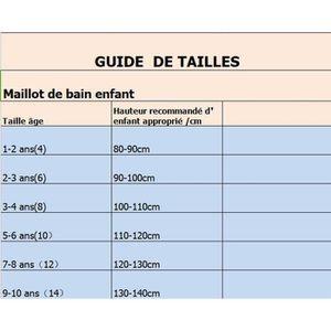 8c3726c878b37a ... MAILLOT DE NATATION Maillot de bain de natation Deux pièces Enfant mot.  ‹›