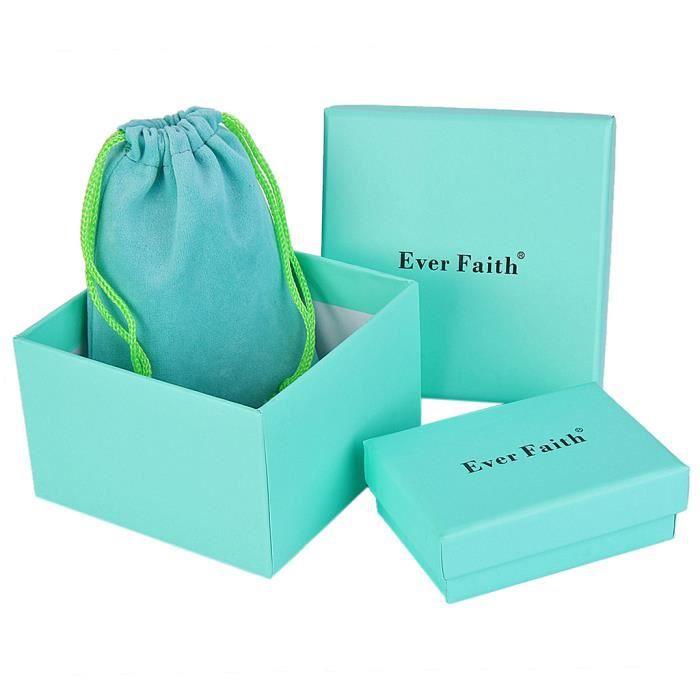 EVER FAITH® -Chaton- Broche Raffiné Cristal Autrichien Email Bleu Marine Plaqué Or Femme N03051-4