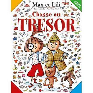 LIVRE JEUX ACTIVITÉS Max et Lili, cherche et trouve