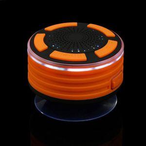 ENCEINTES Haut-parleur de douche Bluetooth portable étanche