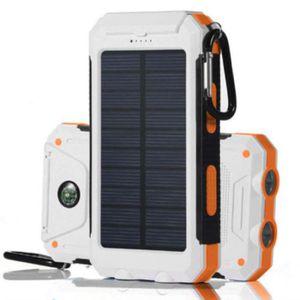BATTERIE EXTERNE Panneau solaire imperméable de chargeur solaire po
