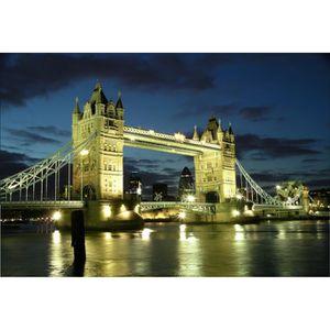 STICKERS Stickers muraux déco : Tower Bridge Londres Dimens