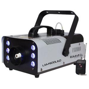 MACHINE À FUMÉE IBIZA LIGHT LSM900LED Machine à fumée DMX avec 6 L