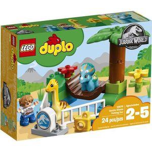 VOITURE À CONSTRUIRE LEGO® DUPLO Jurassic World™ 10879 Le Zoo Des Adora