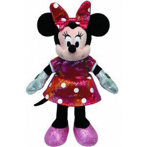 PELUCHE Ty 41080 - Disney - Minnie Avec Paillettes Sound,