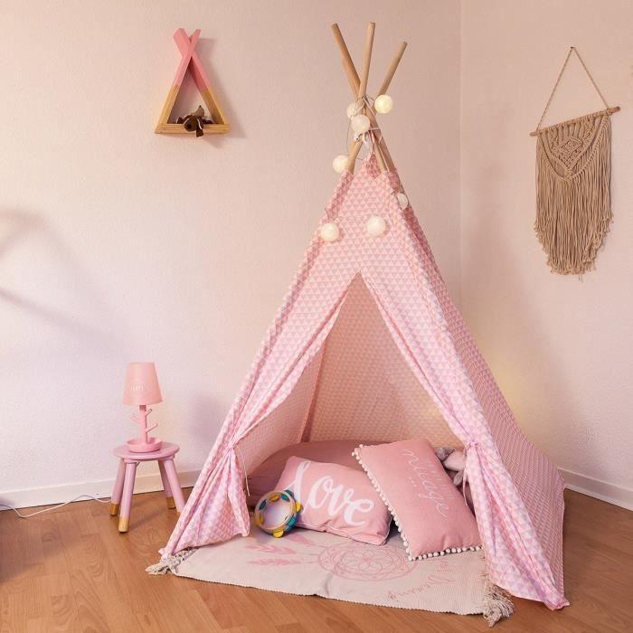 tente tipi achat vente jeux et jouets pas chers. Black Bedroom Furniture Sets. Home Design Ideas