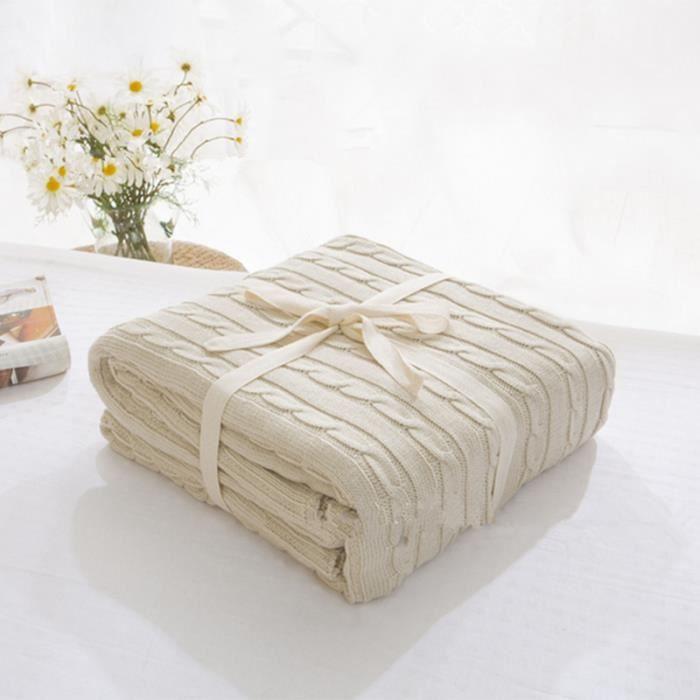 couverture plaid nova beige 110cm180 enfants belle couverture lit - Couverture Lit