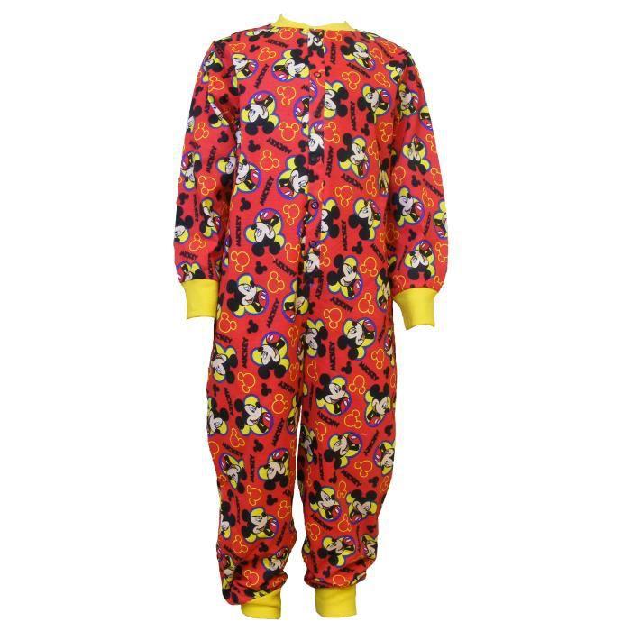 a1c2d6f1bd49a Grenouillère enfant Garçon coton- pyjama -motif... Rouge - Achat ...