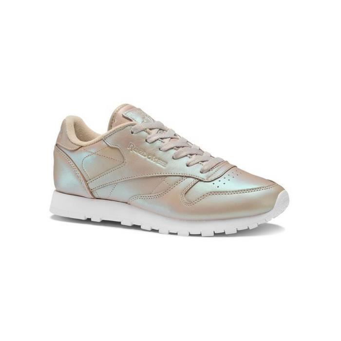 CHAUSSURES REEBOK CLASSIC LEATHER PEARLIZED Blanc - Achat   Vente ... a4b8f1f5dcf2