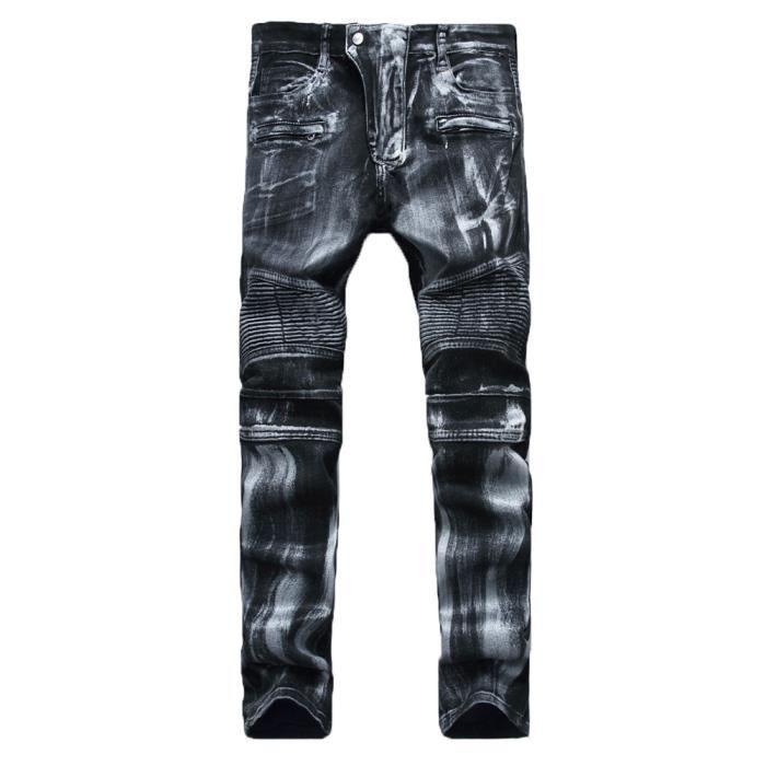 jeans style motard homme. Black Bedroom Furniture Sets. Home Design Ideas