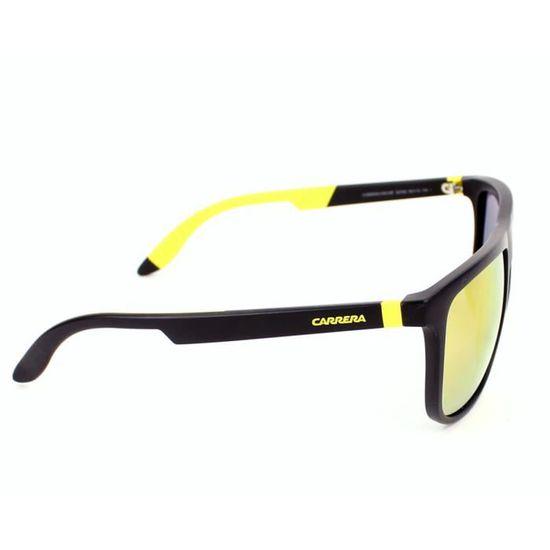 e70bd4981b3ff5 Lunettes de soleil Carrera 5003-SP -267SQ Noir mat - Jaune Noir, Jaune -  Achat   Vente lunettes de soleil Homme - Cdiscount