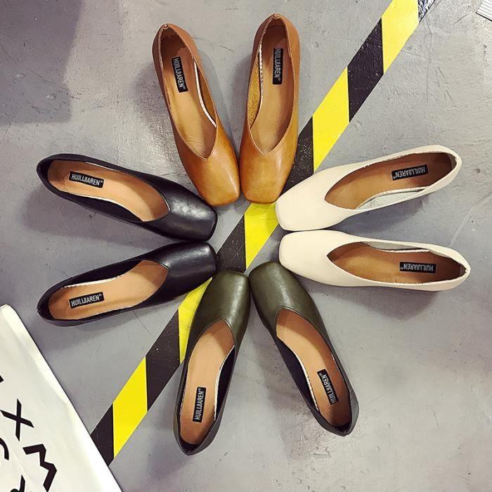 Femmes Chaussures Élégantes Dames Talon de Bloc