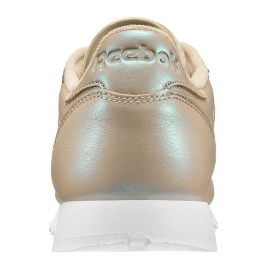 7f47dafc08541 CHAUSSURES REEBOK CLASSIC LEATHER PEARLIZED Blanc - Achat   Vente basket -  Cdiscount
