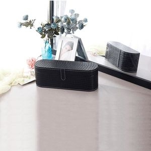 PORTE SECHE-CHEVEUX Noir-Chic Sac de rangement de boîte de sèche-cheve