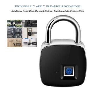 SERRURE - BARILLET Micro-cadenas étanche sans clé à reconnaissance d'