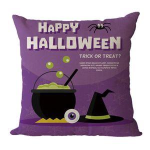 HOUSSE DE COUSSIN poi@ Halloween décoration maison Bureau Canapé des