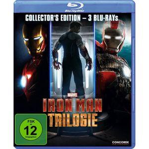 BLU-RAY FILM Iron Man Trilogie-Collector's Edition (Blu-Ray)- (