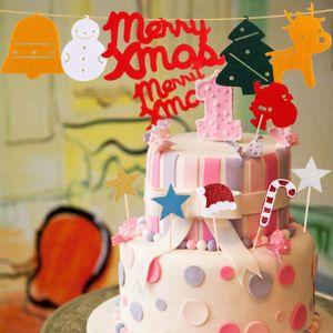 Figurine décor gâteau 31pcs Topper Gâteau Carte Décoration cupcake muffi