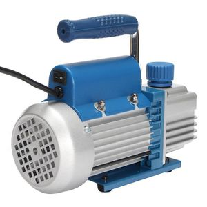 POMPE À VIDE 3 CFM 1L 150W 2Pa Rotatif Pompe à Vide Vacuum HVAC
