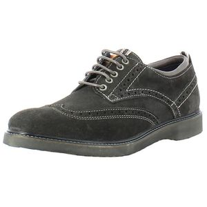 DERBY Chaussures Crossfield Brogue Hommes Gris