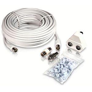 CÂBLE TV - VIDÉO - SON Philips - kit d'extension d'antenne TV - 15 mètre