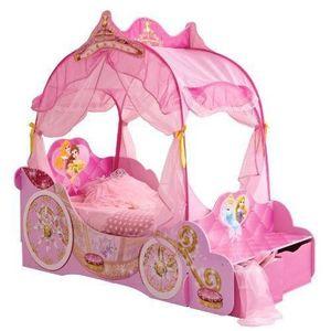 STRUCTURE DE LIT Worlds Apart 862780 Lit Carrosse Disney Princesses