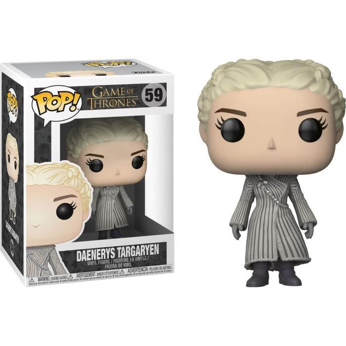 Figurine Funko Pop! Game Of Thrones: Daenerys Targaryen (Manteau Blanc)