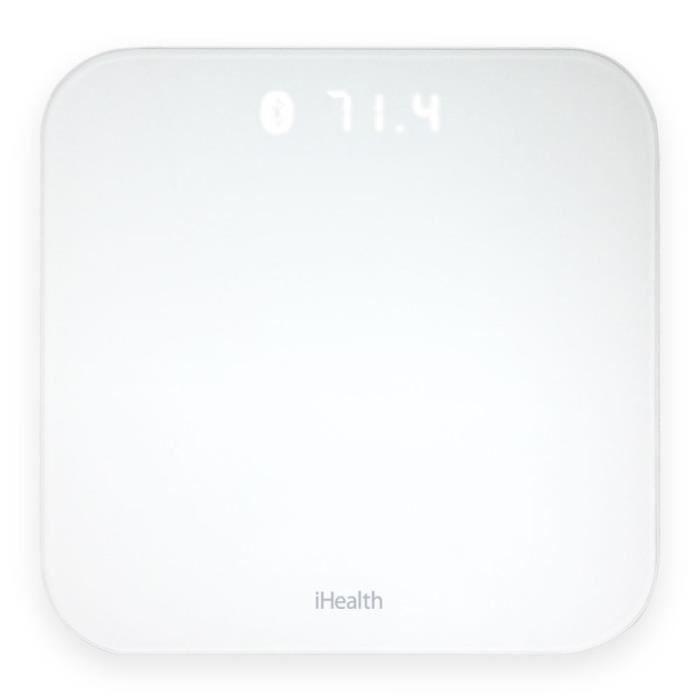 IHEALTH HS4S Impédancemètre connecté - Blanc