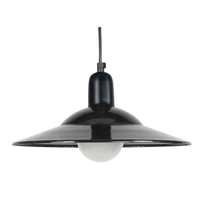 LODGE Lustre - suspension noir -