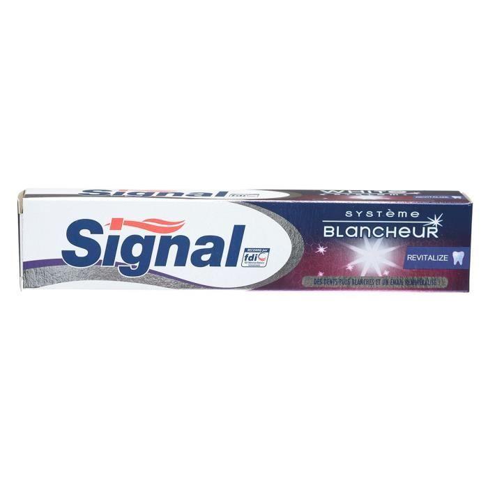 SIGNAL Dentifrice Système Blancheur Revitalize 75 ml