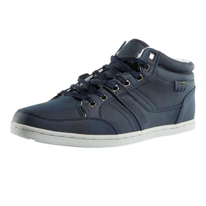 British Knights Homme Chaussures / Baskets Re-Style Mid PU WL