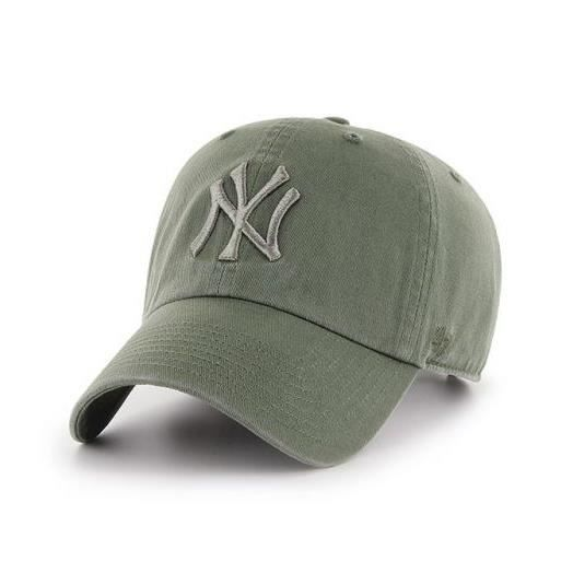 dd4a93e77b199 Casquette New York Yankees vintage CLEAN UP Vert Olive - Achat ...