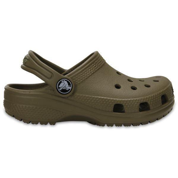Crocs Classic Enfant Clogs Chaussures Sandales en Beige 204536 260 [Junior 2]