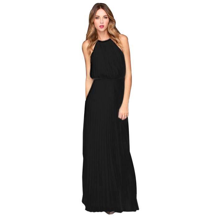 Floral tour cou robe sans manches sexy robe imprimée élégante pour les femmes