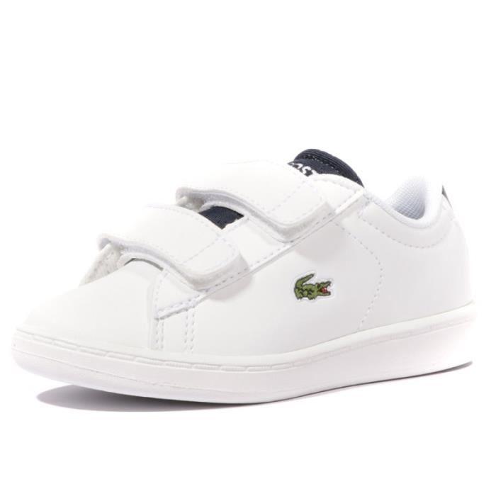 542440968d Carnaby Evo Bébé Garçon Chaussures Blanc Lacoste Blanc Blanc - Achat ...