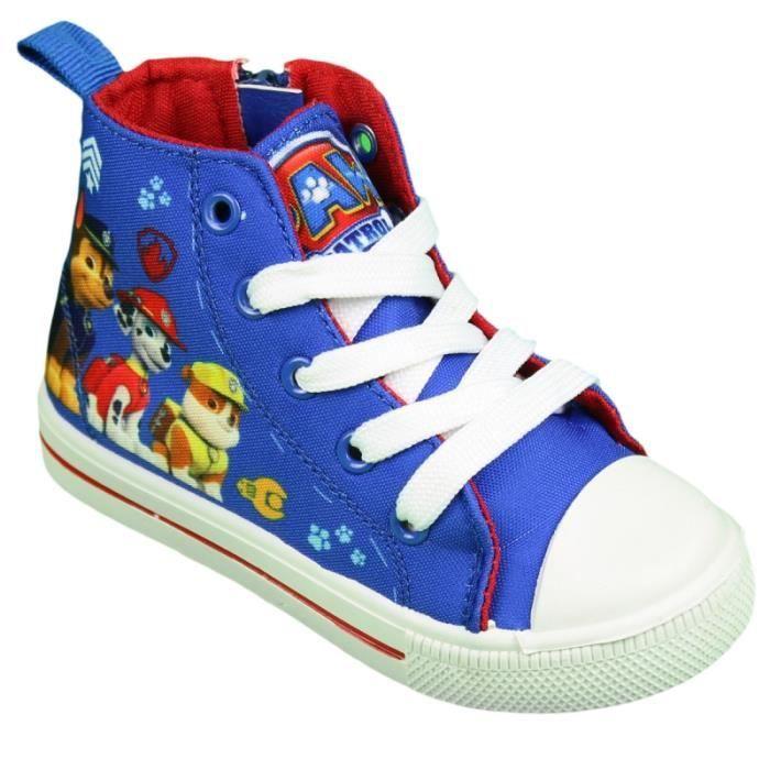 Pat Patrouille - baskets - enfant mixte - bleu Pointure 30