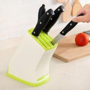 Porte couteau cuisine achat vente pas cher Rangement couteau cuisine