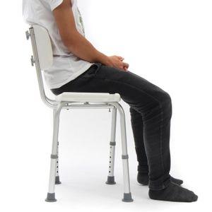 chaise pour salle de bain achat vente pas cher. Black Bedroom Furniture Sets. Home Design Ideas