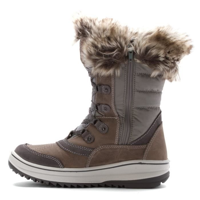 Myrah Leather Boot I9AIV Taille-42