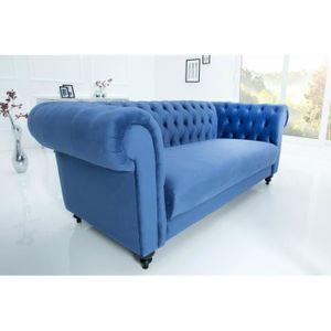 Canapé bleu - Achat / Vente Canapé bleu pas cher - Cdiscount.com