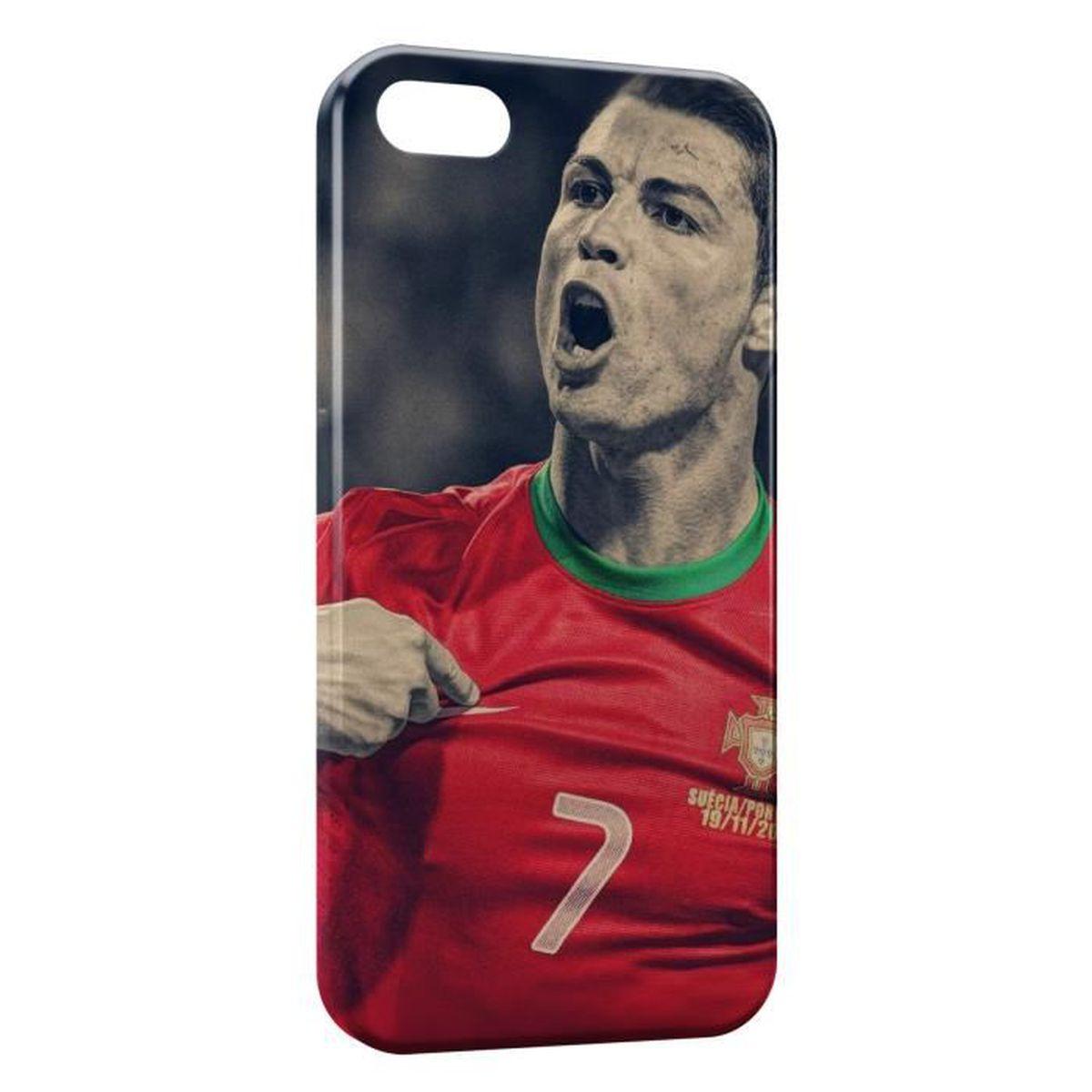 coque silicone iphone 4 ronaldo