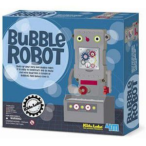 ASSEMBLAGE CONSTRUCTION Kit de création - Robot à bulles