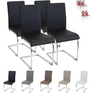 CHAISE Albatros chaise cantilever BURANO Lot de 4 chaises