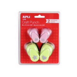 Perforatrice - Poinçon APPLI Blister de 4 Perforatrices de Forme créative