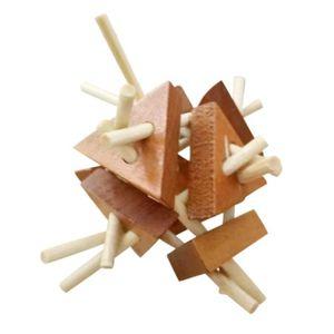 PUZZLE Intelligence Jouet en bois chinois Casse-tête Jeu