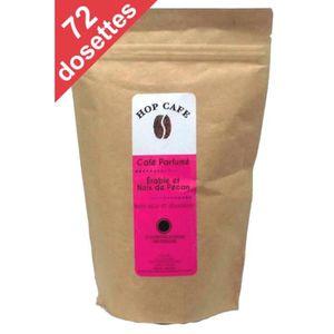 CAFÉ - CHICORÉE Pack 72 dosettes de Café aromatisé Érable Pécan po