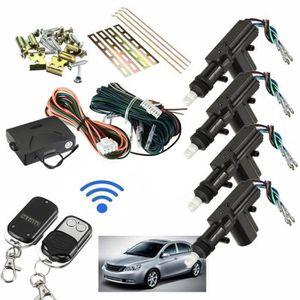 ALARME VEHICULE Voiture Car Télécommande Alarme Sécurité Système E