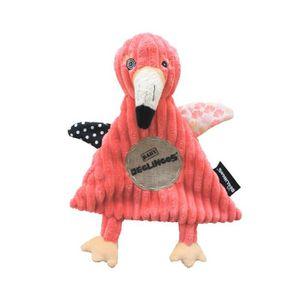 DOUDOU LES DEGLINGOS Peluche Baby Flamingos le Flamant Ro